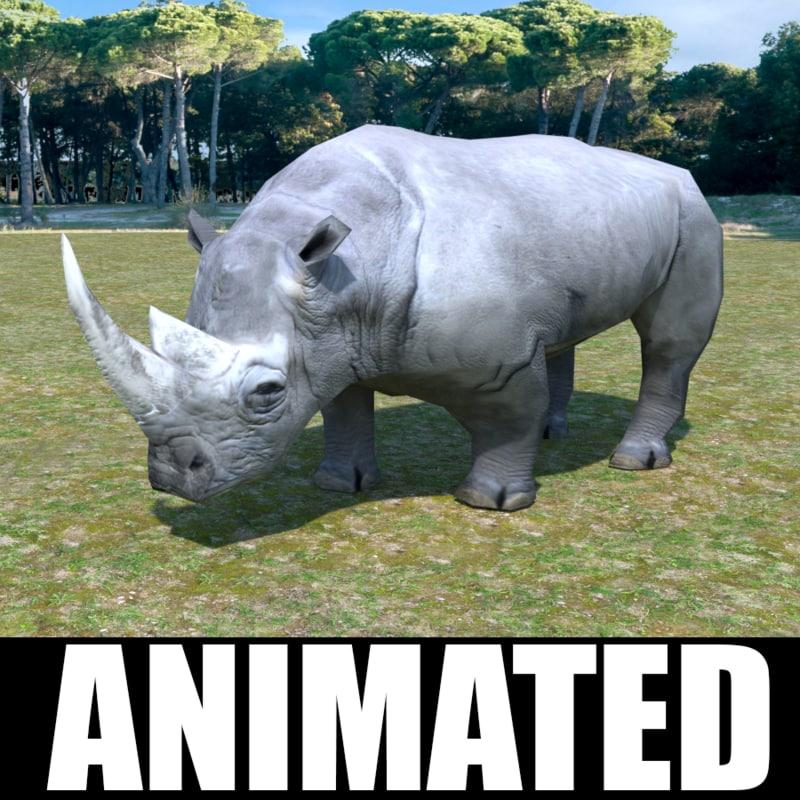 rhino unity animation 3d max