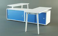 3d model workstation