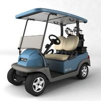 3d golf cart model
