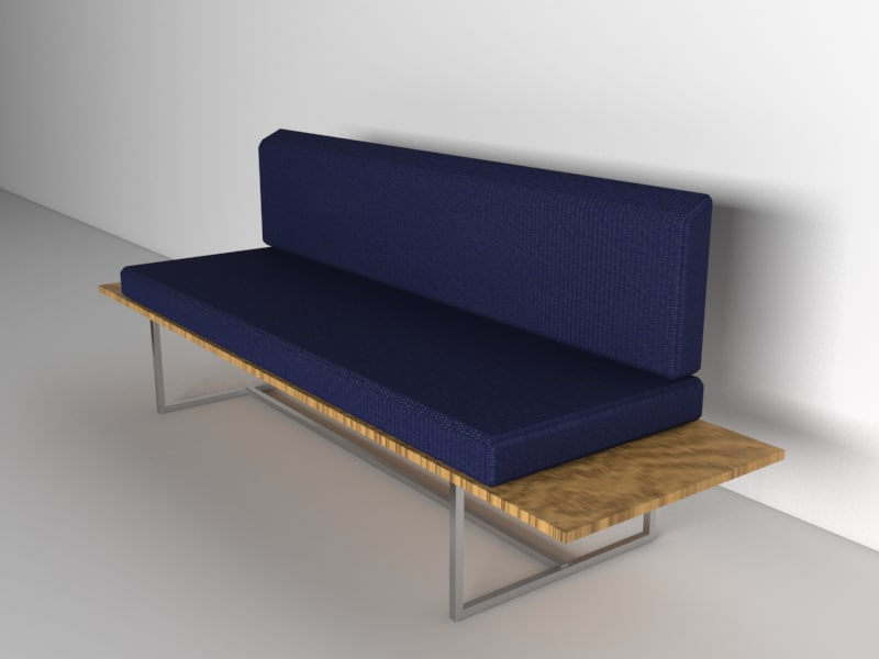 3d circus couch model
