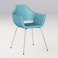 3d model office nano chair
