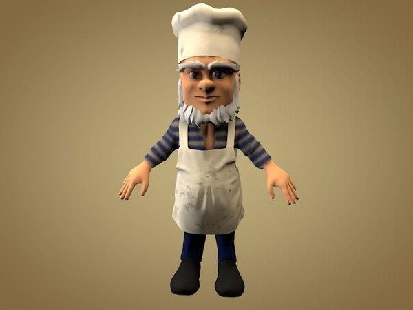 obj cook kitchen