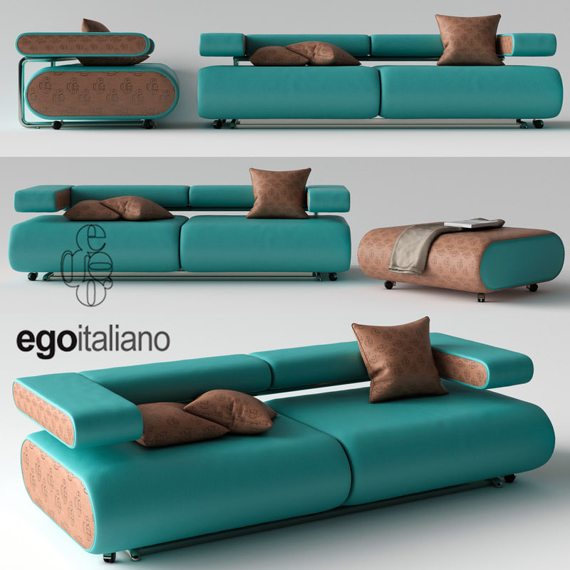 sofa egoitaliano alice 3d model