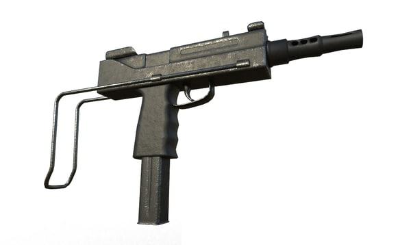 bxp submachine gun 3ds
