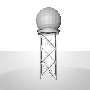 3d model doppler radar