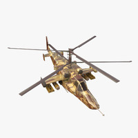3ds military helicopter