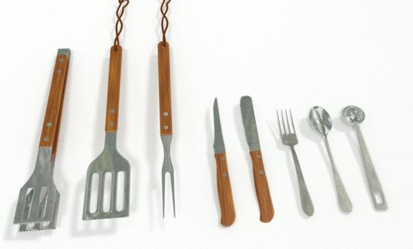 3d model of kitchen utensil