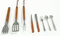 Barbecue and Kitchen Utensil Set