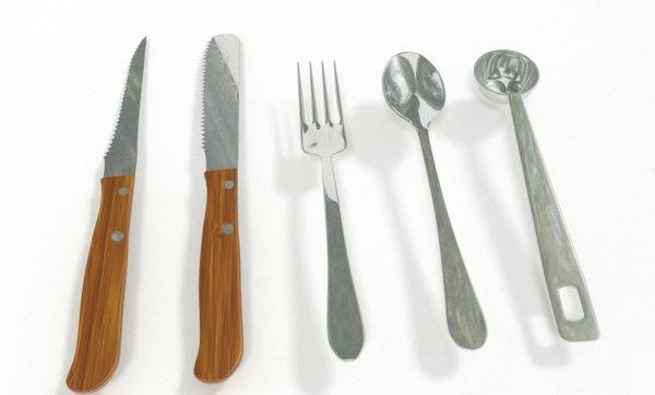 3d model kitchen utensil