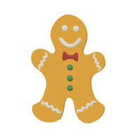 dxf gingerbread man