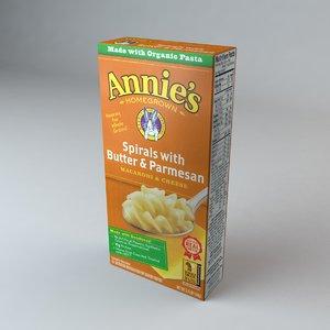 box annies spirals butter 3ds