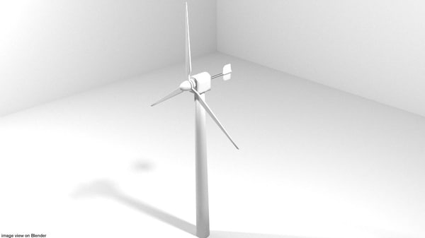 wind windmill 3d 3ds