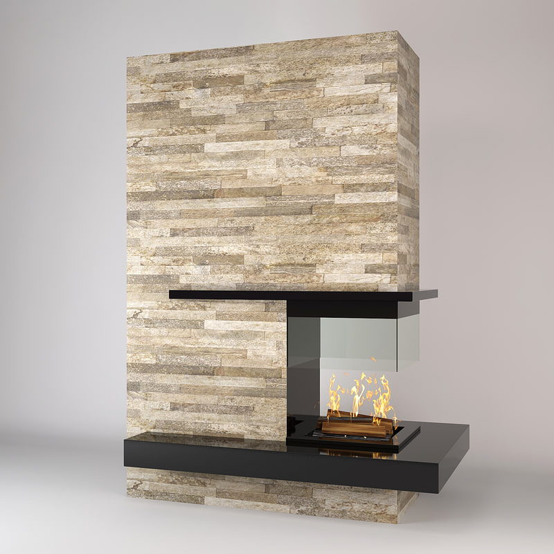 modern fireplace boley max