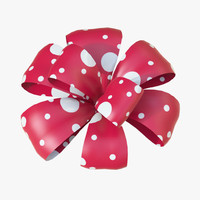 christmas bows 3d model