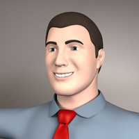 basic male modeled 3d 3ds