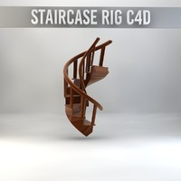 Staircase C4D Rig