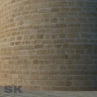 HQ Sandstone wall O