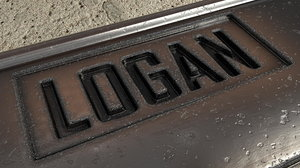 3d logan wolverines dog tags