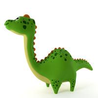 inflatable dinosaur 3d model