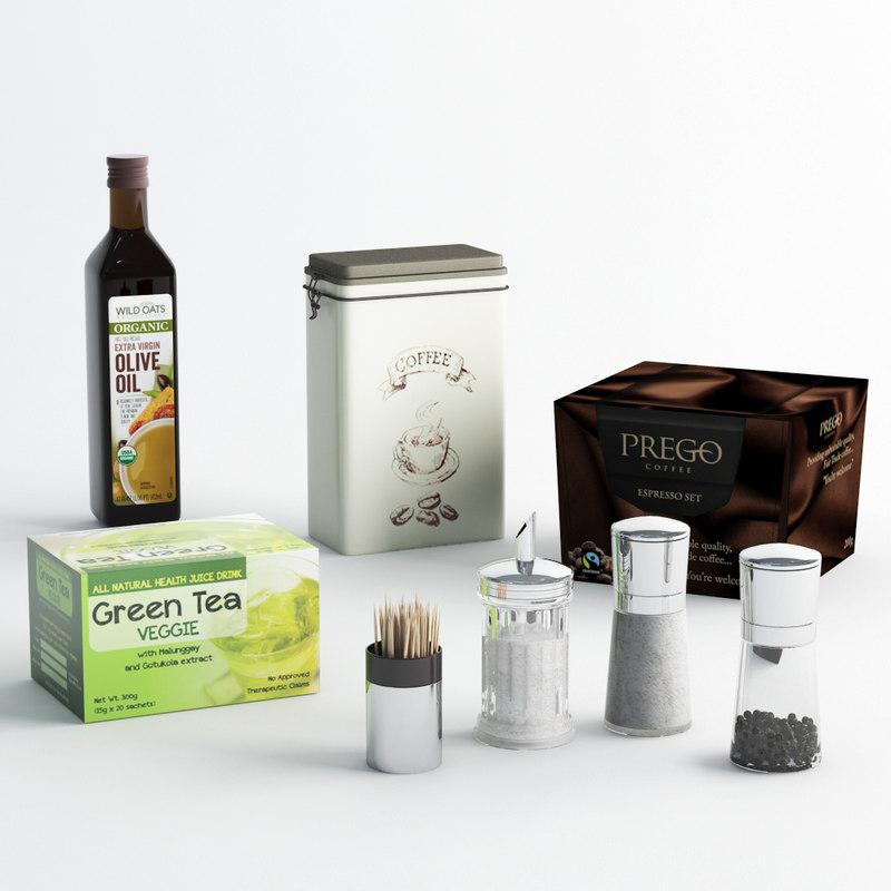 olive oil 3d max