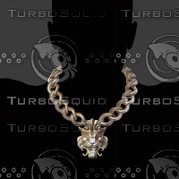 Big LION Necklace