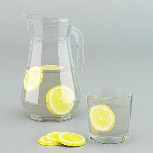 3d max glass jug