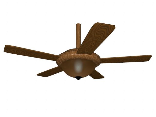 fan ceiling obj