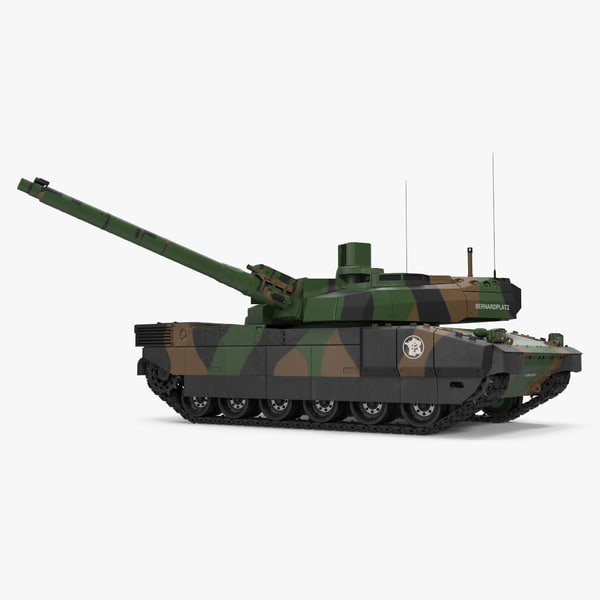 3d amx-56 leclerc french main model