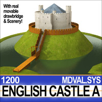 medieval english castle 3ds