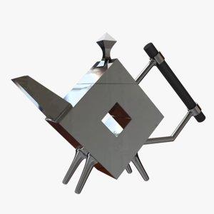 designed christopher dresser 3d model