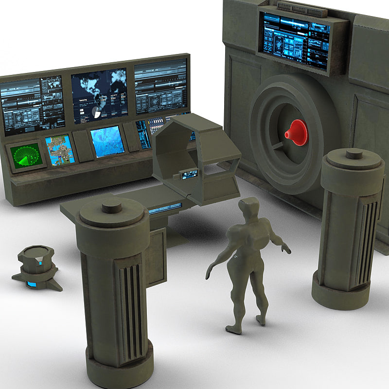 lab laboratory 3d model