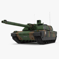 AMX-56 Leclerc French Main Battle Tank