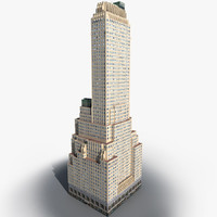 Manhattan Lexington Avenue Building 02 LOW_POLY
