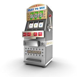 3d model slot machine gamble