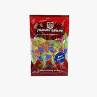 gummy bears bag 3d max
