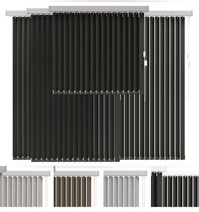 3d vertical blind 4 model