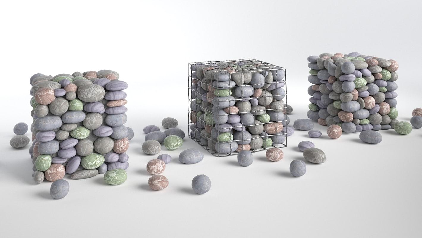 pebble pack 3d 3ds