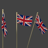 3d model national great britain