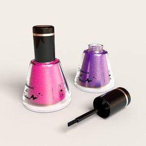 3d model hq nail polish