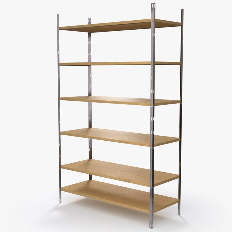 3d 01 shelf model