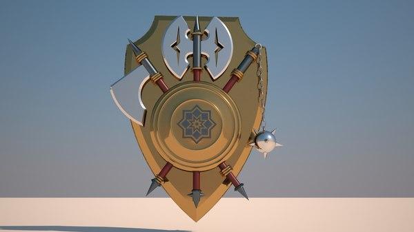 free max mode medieval shield