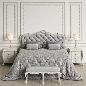 angelo cappellini ponza bedroom 3d model