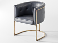 arteriors calvin chair art obj