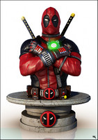 Deadpool Bust, Marvel.