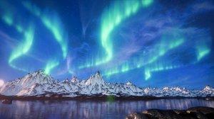 3d aurora borealis