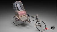 3d asian rickshaw