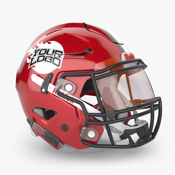 max american football helmet riddell