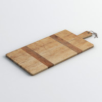 cutting board 3d model