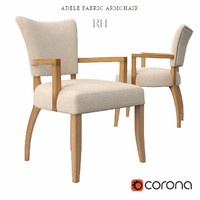 ADELE FABRIC ARMCHAIR