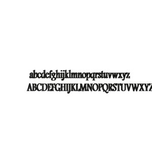 andalus font cg cad 3d 3ds